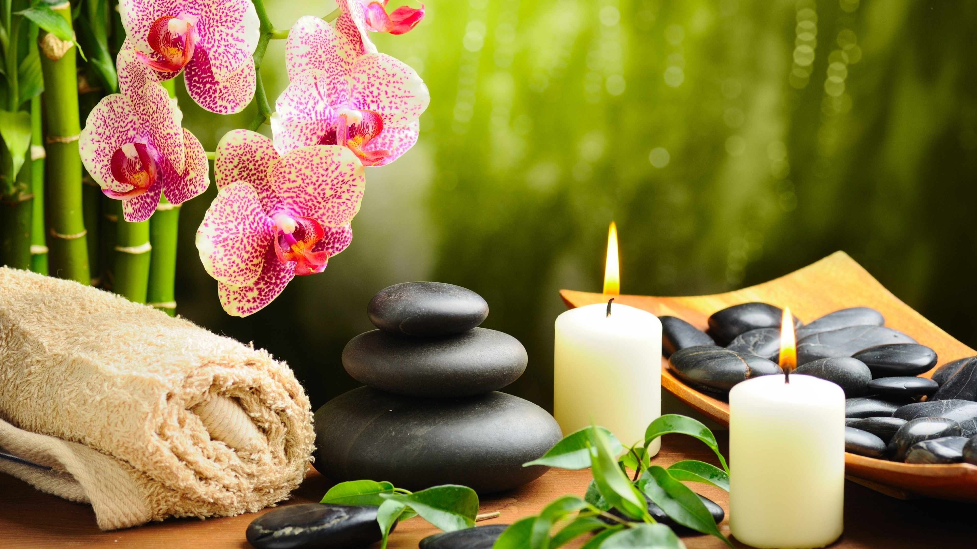 orchid_stones_candles_towels_68114_3840x2160